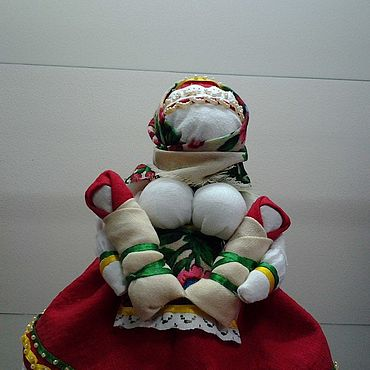 Куклы и игрушки ручной работы. Ярмарка Мастеров - ручная работа Куклы: Кукла-оберег МАМУШКА. Handmade.