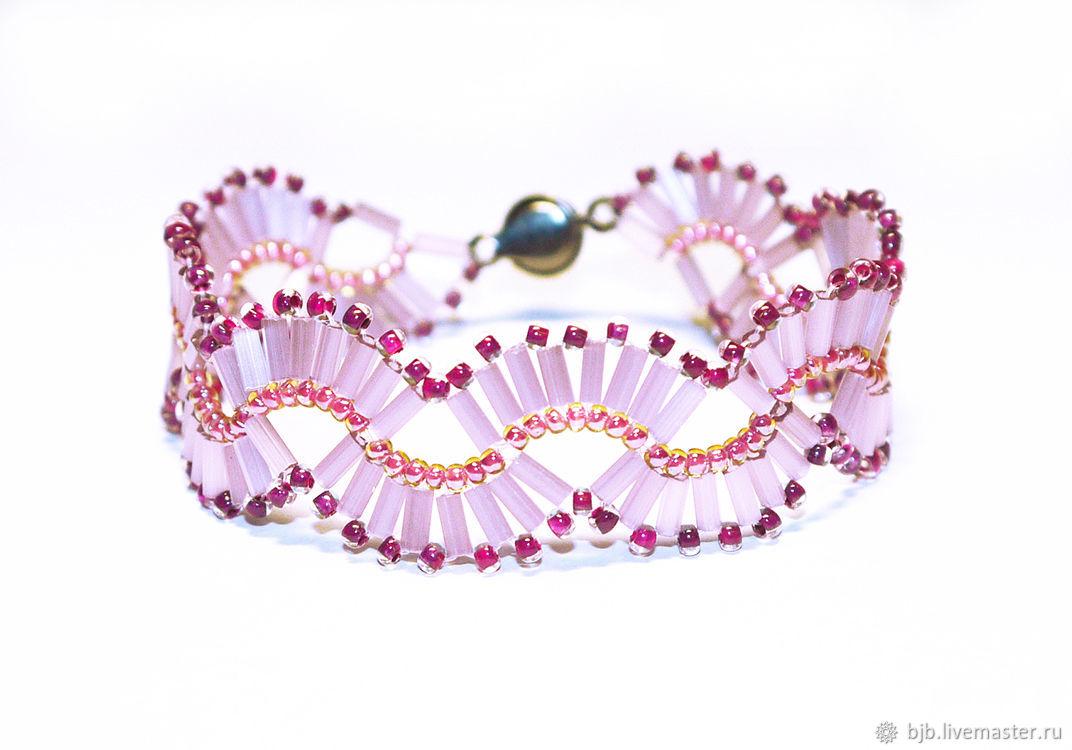 Beaded Bracelet BGB1460171, Bead bracelet, Ahtubinsk,  Фото №1