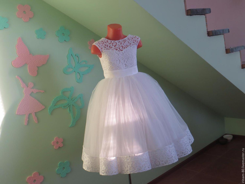 Как сшить платья пышные на девочку