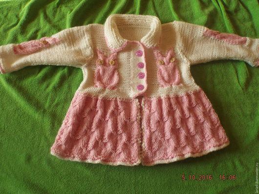 """Одежда для девочек, ручной работы. Ярмарка Мастеров - ручная работа. Купить Платье """"Совушка"""". Handmade. Детская одежда, нарядное платье"""