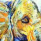 """Животные ручной работы. Заказать Картина со слонами """"Я Тебя Люблю"""" картина слон. ЯРКИЕ КАРТИНЫ Наталии Ширяевой. Ярмарка Мастеров."""