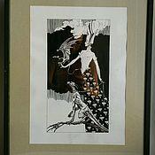 """Картины и панно ручной работы. Ярмарка Мастеров - ручная работа Картина """"Амазонка 2"""". Handmade."""