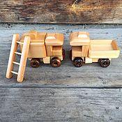 Техника, роботы, транспорт ручной работы. Ярмарка Мастеров - ручная работа Набор мини техники №4 деревянный. Handmade.