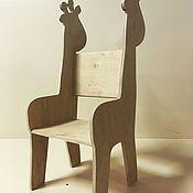 """Мебель ручной работы. Ярмарка Мастеров - ручная работа Детский стульчик """"Жирафик"""". Handmade."""