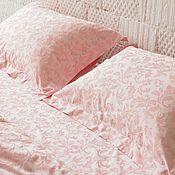 Для дома и интерьера handmade. Livemaster - original item Tencel lyocell bedding. Pink Duvet Cover Bedding Set. Eco friendly. Handmade.