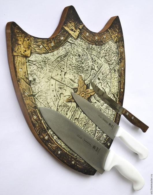 Кухня ручной работы. Ярмарка Мастеров - ручная работа. Купить Магнитная подставка для ножей. Handmade. Подставка для ножей, для ножей