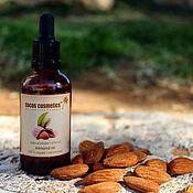 Косметика ручной работы handmade. Livemaster - original item Pure almond oil - Unrefined organic sweet almond oil - Skincare. Handmade.