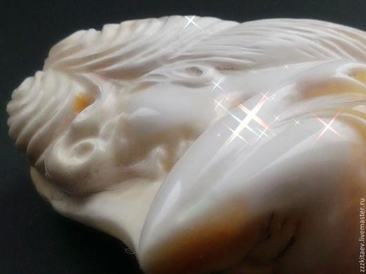 Миниатюрные модели ручной работы. Ярмарка Мастеров - ручная работа. Купить барельеф НЕЗНАКОМКА 2. Handmade. Белый, миниатюра
