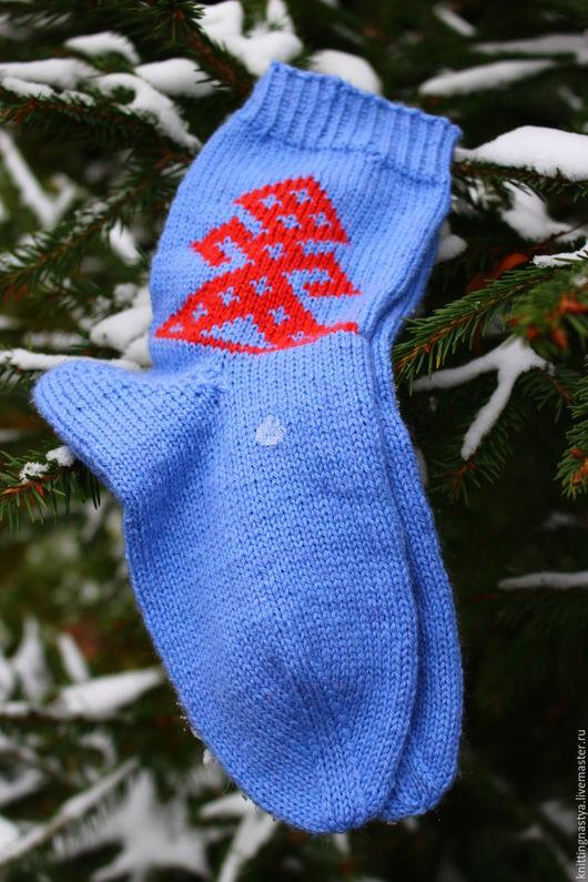 Носки, Чулки ручной работы. Ярмарка Мастеров - ручная работа. Купить Обережные носочки. Handmade. Комбинированный, носки ручной работы