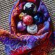 Handmade wool scarf. Scarves. Yaga handmade clothing & textiles. My Livemaster. Фото №4