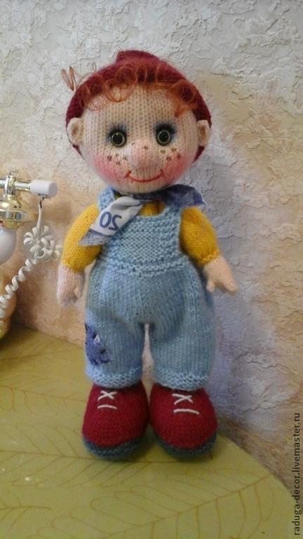 Человечки ручной работы. Ярмарка Мастеров - ручная работа. Купить Гномик Васенька. Handmade. Разноцветный, игрушка, кукла ручной работы