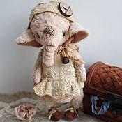 Куклы и игрушки ручной работы. Ярмарка Мастеров - ручная работа Слоняшка Полли.. Handmade.