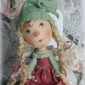 Куклы и игрушки ручной работы. Ярмарка Мастеров - ручная работа Ангел  счастья Эллина.По мотивам работ Е ГАпчинской. Handmade.