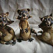 Куклы и игрушки ручной работы. Ярмарка Мастеров - ручная работа Енотики. Handmade.