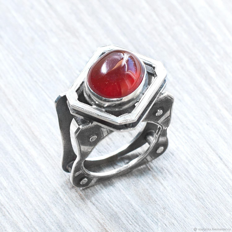 Pomegranate (ring) (937), Rings, Tambov,  Фото №1