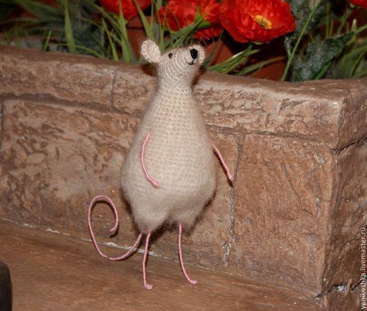 Игрушки животные, ручной работы. Ярмарка Мастеров - ручная работа. Купить Мышонок. Handmade. Мышка игрушка, игрушка ручной работы