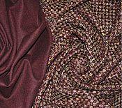 Ткани ручной работы. Ярмарка Мастеров - ручная работа Костюмный шерстяной твид из коллекции  VALENTINO. Handmade.