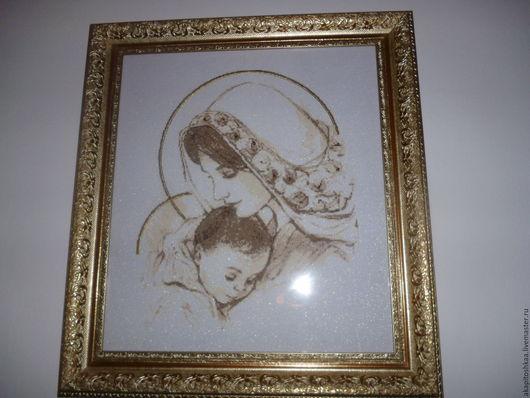 Иконы ручной работы. Ярмарка Мастеров - ручная работа. Купить Мадонна с младенцем. Handmade. Мадонна с младенцем, Икона ручной работы