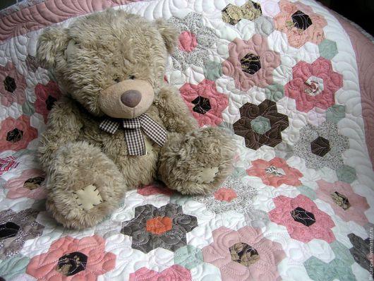 Пледы и одеяла ручной работы. Ярмарка Мастеров - ручная работа. Купить Одеялко детское пэчворк.. Handmade. Комбинированный, одеяло для новорожденного