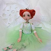 Куклы и игрушки ручной работы. Ярмарка Мастеров - ручная работа Зеленая жемчужинка. Авторская кукла. Handmade.
