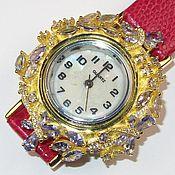 Украшения ручной работы. Ярмарка Мастеров - ручная работа Браслет часы танзанит серебро. Handmade.