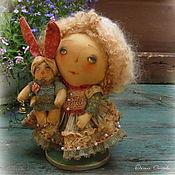 Куклы и игрушки ручной работы. Ярмарка Мастеров - ручная работа Зайкина хозяйка. Handmade.