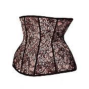 Одежда handmade. Livemaster - original item Transparent corset underwear slimming. Handmade.