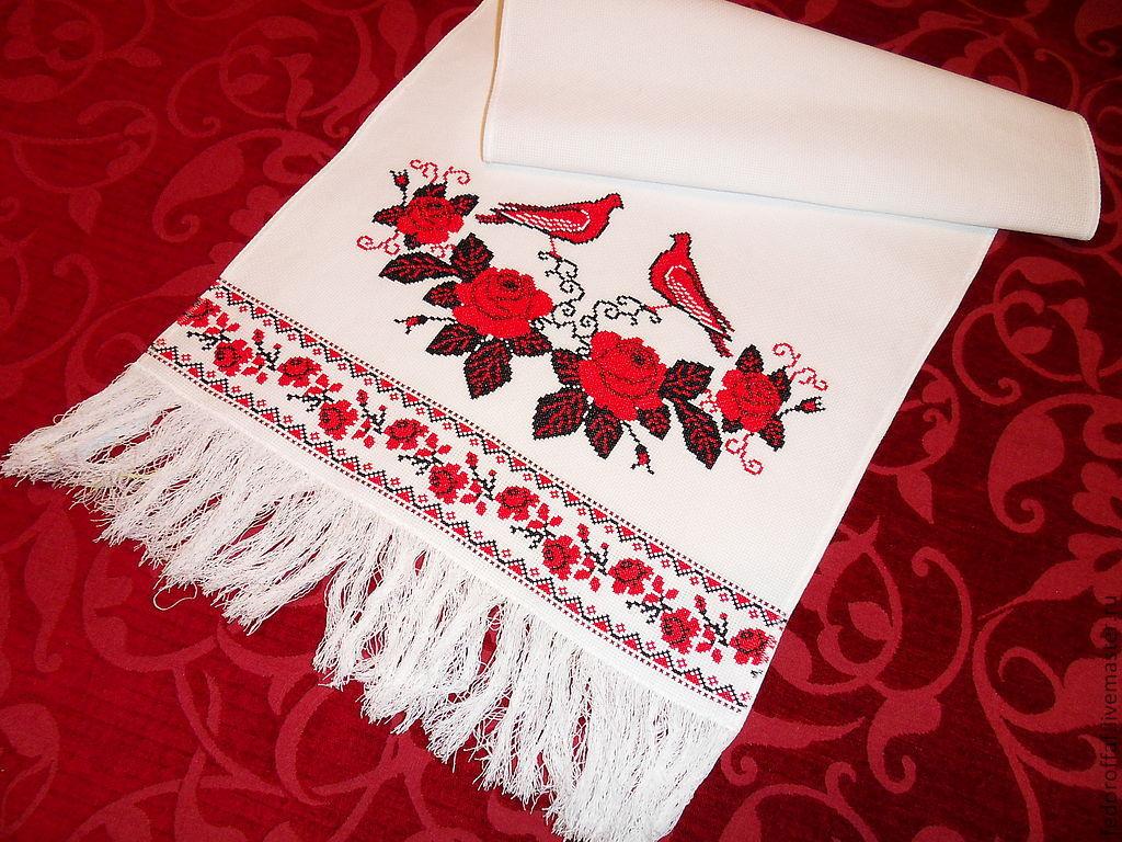 Русский рушник свадебный своими руками