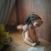 """Куклы и игрушки ручной работы. Ярмарка Мастеров - ручная работа """"Осенний ветер"""" мишка тедди. Handmade."""