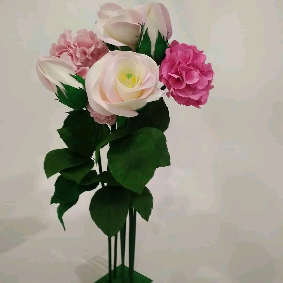 Букет из ростовых цветов, Цветы, Москва,  Фото №1