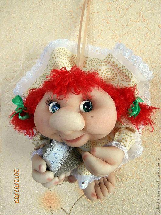 Человечки ручной работы. Ярмарка Мастеров - ручная работа. Купить Интерьерная кукла на удачу. Handmade. Кукла, счастье, оригинальный подарок