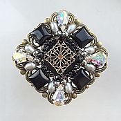 Украшения handmade. Livemaster - original item Brooch Black Prince.. Handmade.