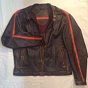 Одежда ручной работы. Ярмарка Мастеров - ручная работа Куртка кожаная. Handmade.
