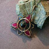 Украшения handmade. Livemaster - original item Pendant with rubies. Handmade.