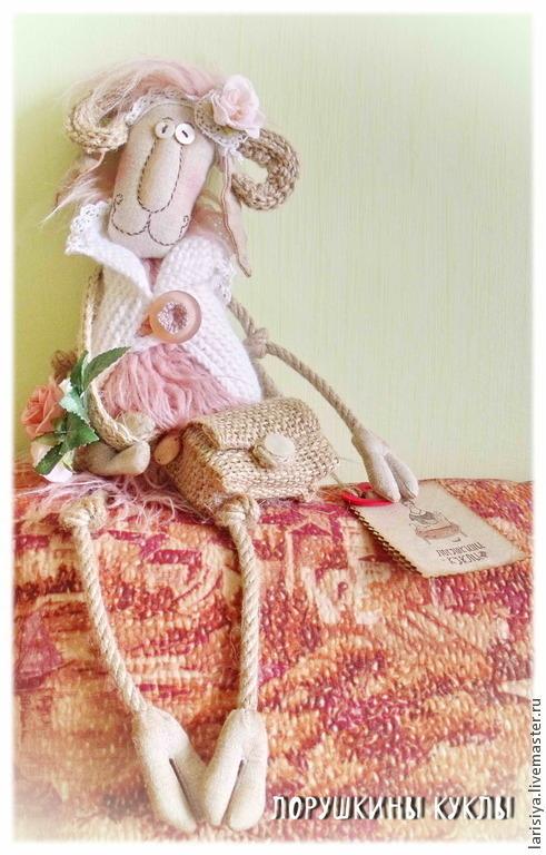 Игрушки животные, ручной работы. Ярмарка Мастеров - ручная работа. Купить Коза Роза. Handmade. Розовый, коза, необычный подарок