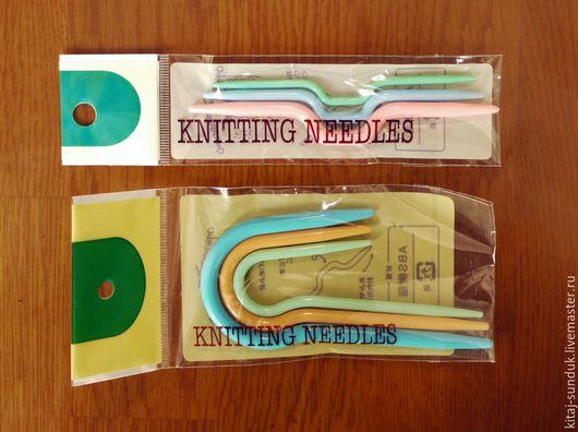 Вязание ручной работы. Ярмарка Мастеров - ручная работа. Купить Аксессуары для вязания. Handmade. Комбинированный, маркировочные кольца, линейка для спиц