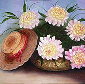 """Картины и панно ручной работы. Ярмарка Мастеров - ручная работа """"Летнее настроение"""" Картина маслом Картины цветов. Handmade."""