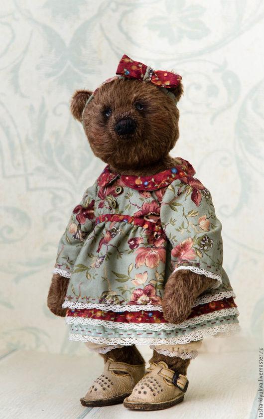 Мишки Тедди ручной работы. Ярмарка Мастеров - ручная работа. Купить Медведица Глаша. Handmade. Коричневый, мохер