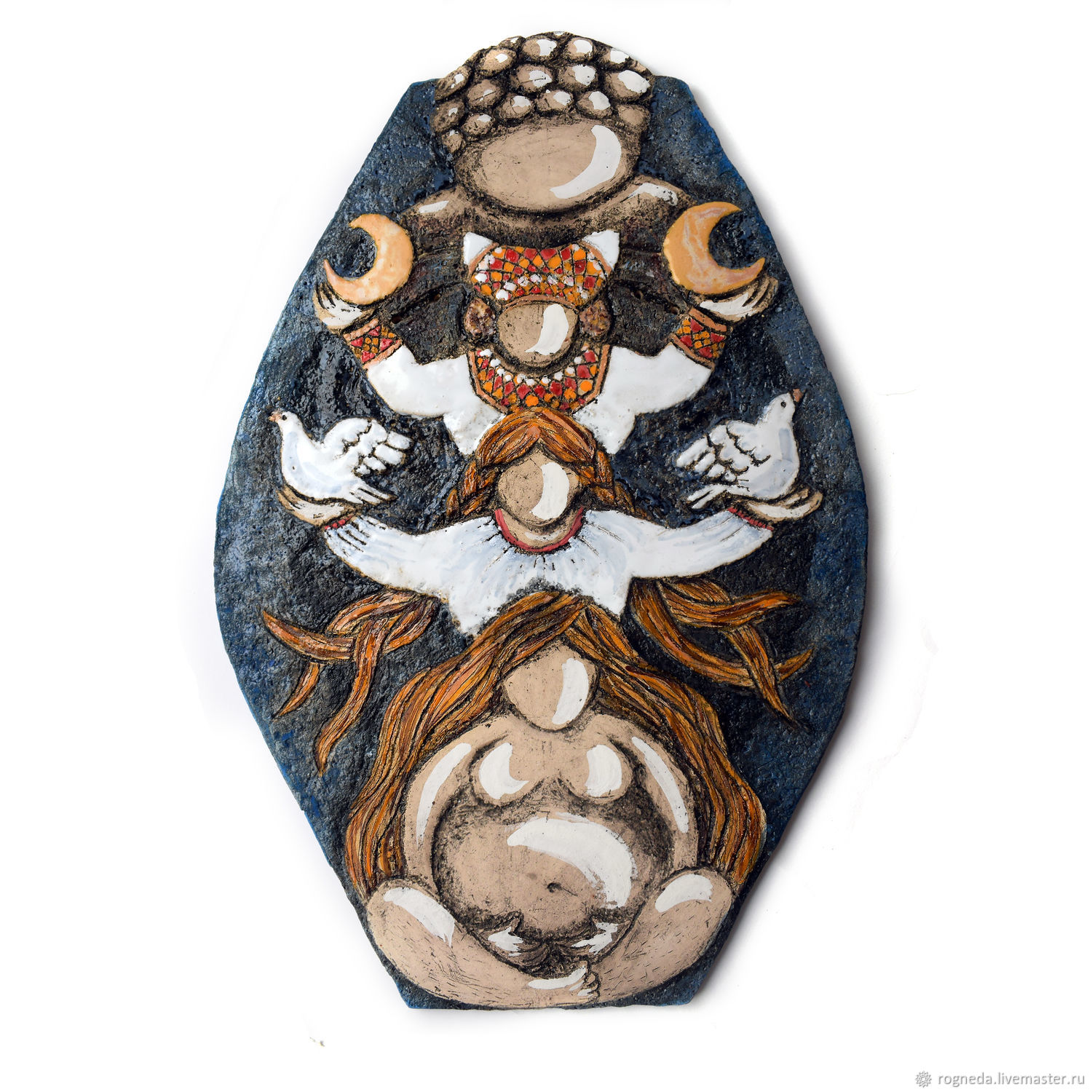 Foremothers - ceramic wall panel, Panels, Moscow,  Фото №1