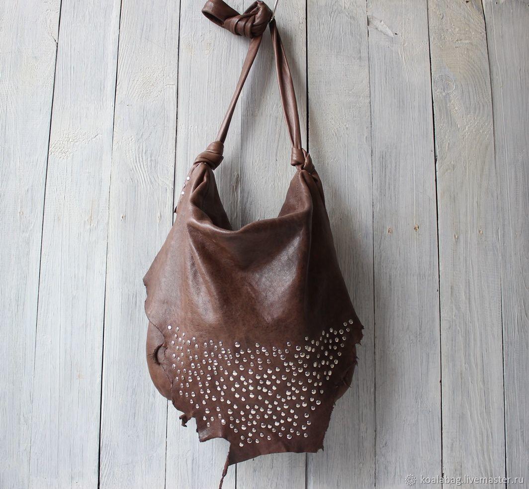 774b345d628e Женские сумки ручной работы. Ярмарка Мастеров - ручная работа. Купить  Кожаная бохо сумка