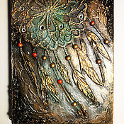 """Блокноты ручной работы. Ярмарка Мастеров - ручная работа Блокнот """"Ловец снов"""". Handmade."""