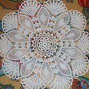 Для дома и интерьера ручной работы. Ярмарка Мастеров - ручная работа салфетка для дома. Handmade.