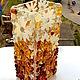 Вазы ручной работы. ваза из стекла, фьюзинг   Медовая. Лилия  Горбач-ФЬЮЗИНГ. Ярмарка Мастеров. Ваза, купить вазу, glass