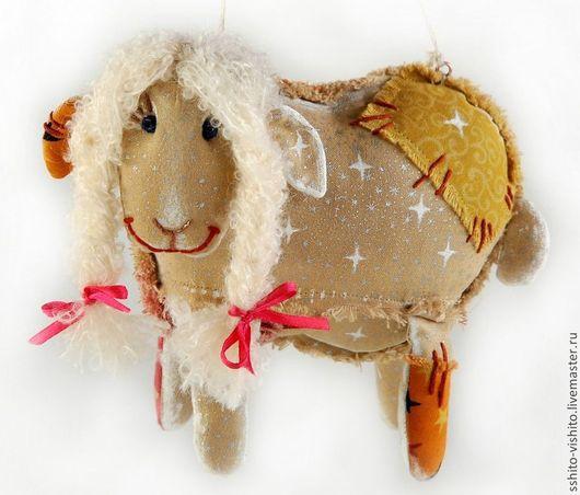 Куклы и игрушки ручной работы. Ярмарка Мастеров - ручная работа. Купить Набор для шитья игрушки Облачная Овечка. Handmade. Золотой