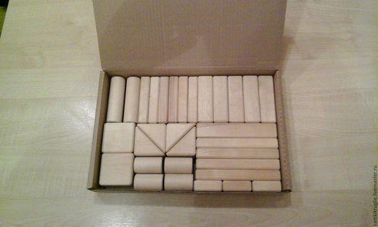 Развивающие игрушки ручной работы. Ярмарка Мастеров - ручная работа. Купить Конструктор деревянный. Handmade. Конструктор, конструктор деревянный