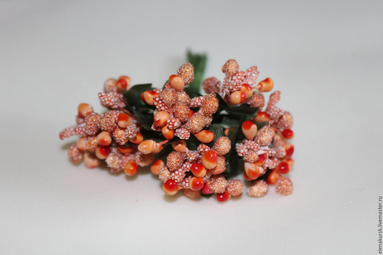 Сахарные ягоды для рукоделия своими руками 39