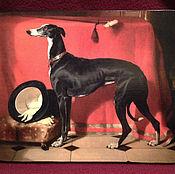 """Картины ручной работы. Ярмарка Мастеров - ручная работа """"Эос  любимая  борзая принца  Альберта"""".. Handmade."""