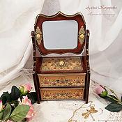 Для дома и интерьера handmade. Livemaster - original item Chest of drawers with mirror