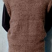 Одежда handmade. Livemaster - original item Vest made of dog hair. Handmade.