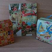 Подарки к праздникам ручной работы. Ярмарка Мастеров - ручная работа подарочные коробки-сундучки. Handmade.